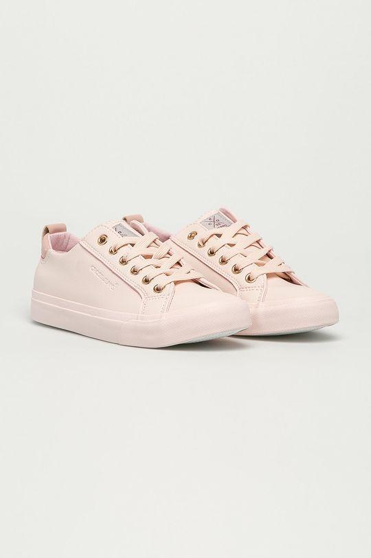 Cross Jeans - Tenisówki różowy