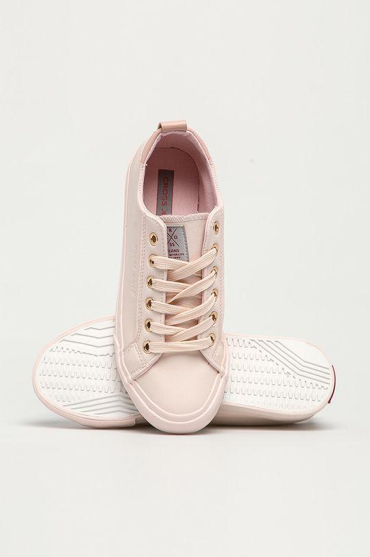 różowy Cross Jeans - Tenisówki