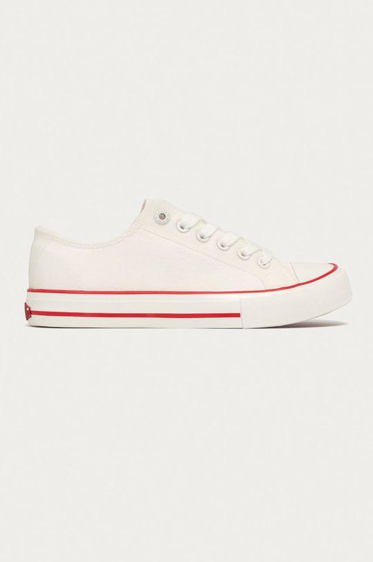 biały Cross Jeans - Tenisówki Damski