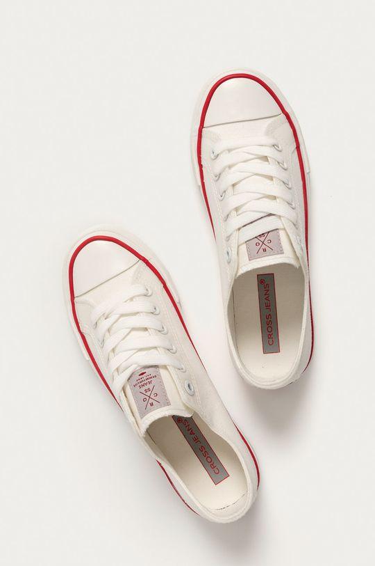 biały Cross Jeans - Tenisówki