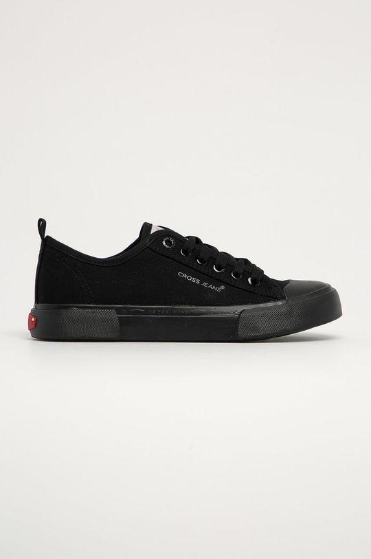 czarny Cross Jeans - Tenisówki Damski