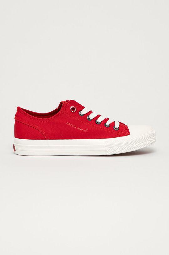 czerwony Cross Jeans - Tenisówki Damski