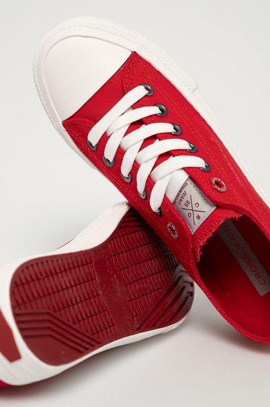 czerwony Cross Jeans - Tenisówki
