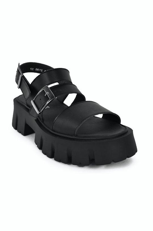 Altercore - Sandały SUSIE VEGAN czarny