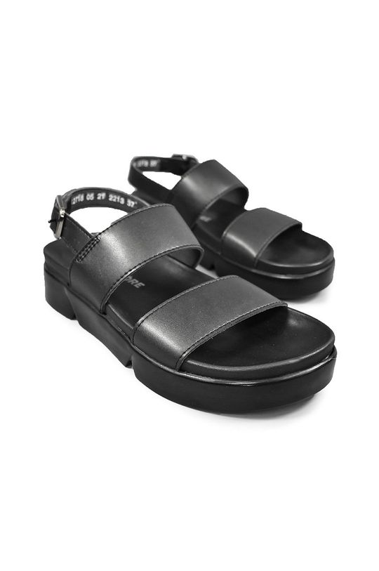 Altercore - Sandále CAMILLE čierna