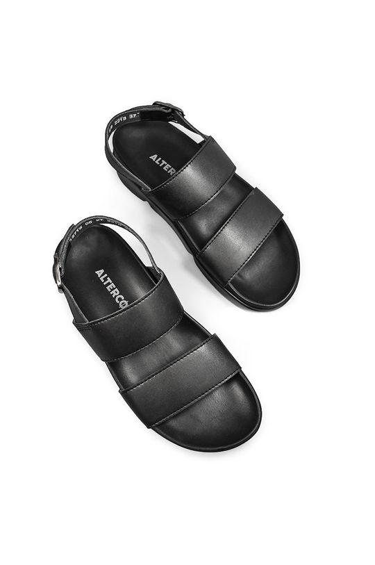 čierna Altercore - Sandále CAMILLE