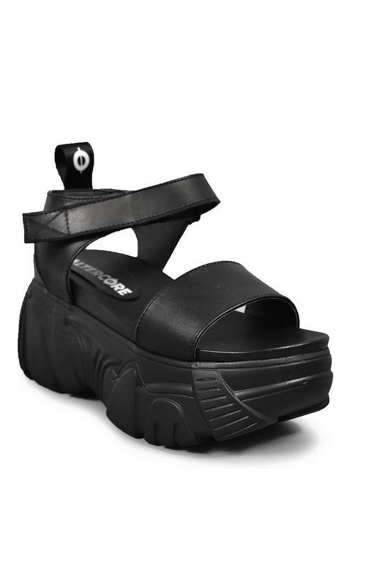 Altercore - Sandály DRACONIA VEGAN černá