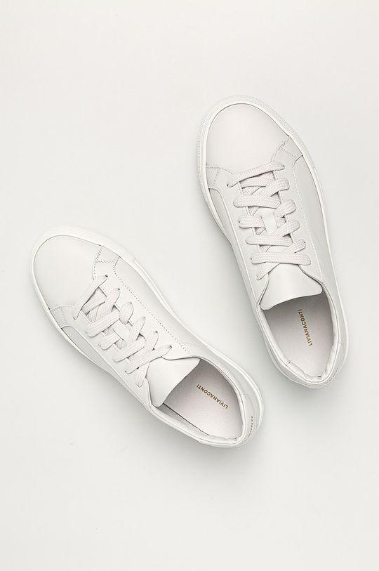biela Liviana Conti - Kožená obuv