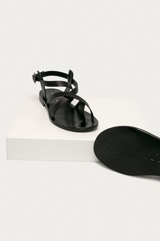 Liviana Conti - Kožené sandále  Zvršok: Prírodná koža Vnútro: Prírodná koža Podrážka: Drevo, Prírodná koža