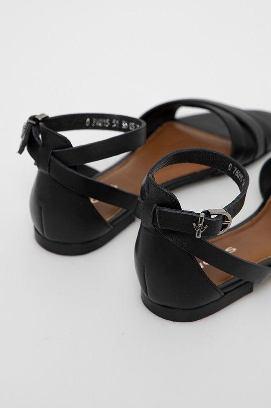 Wojas - Kožené sandály  Svršek: Přírodní kůže Vnitřek: Přírodní kůže Podrážka: Umělá hmota