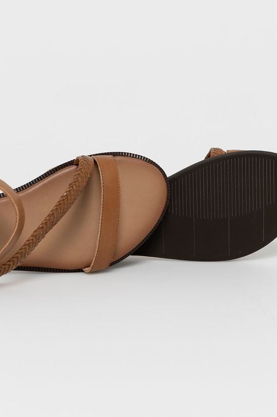 brązowy Wojas - Sandały skórzane
