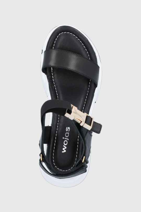 czarny Wojas - Sandały skórzane