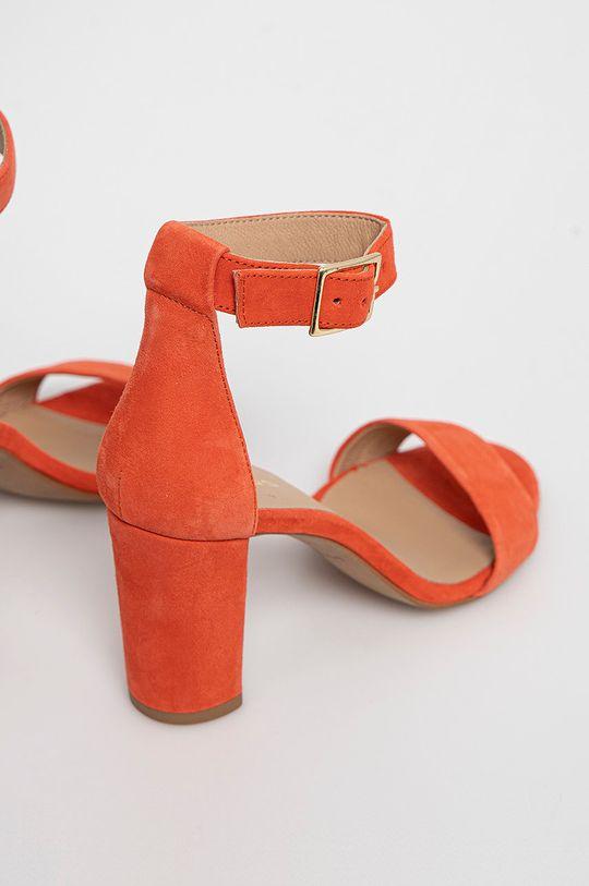 Wojas - Semišové sandále  Zvršok: Semišová koža Vnútro: Prírodná koža Podrážka: Syntetická látka