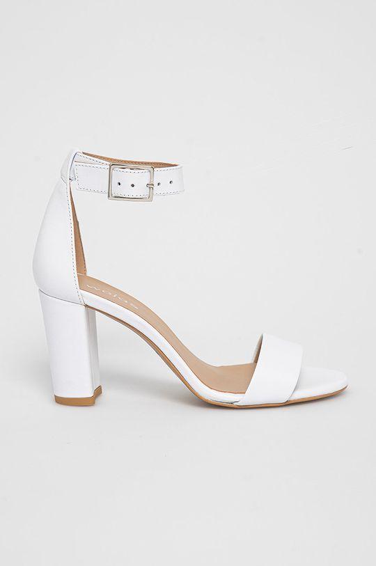 biela Wojas - Kožené sandále Dámsky