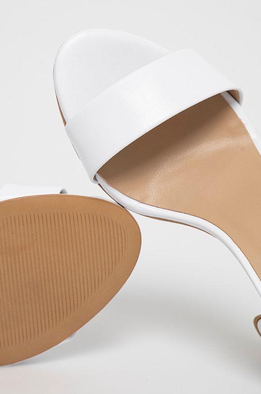 biela Wojas - Kožené sandále