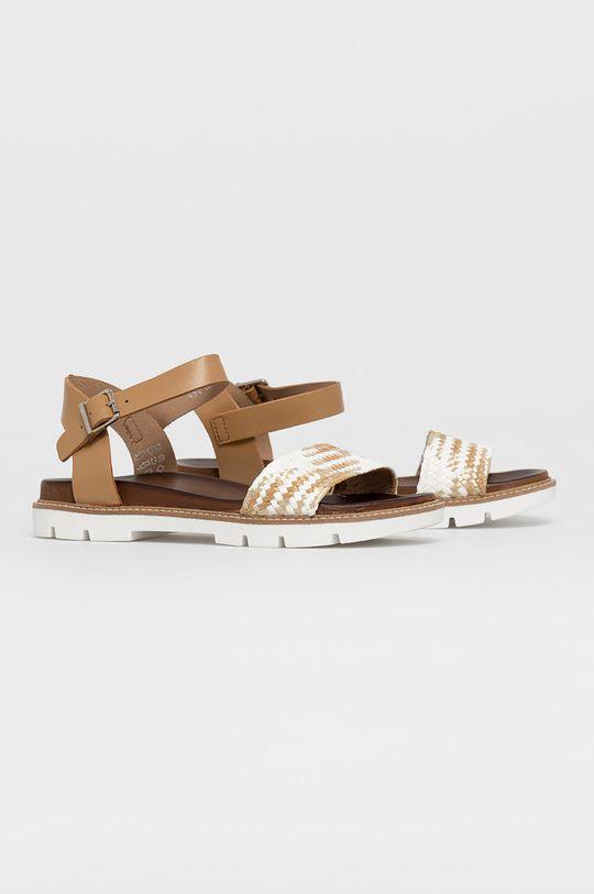 Wojas - Sandały beżowy