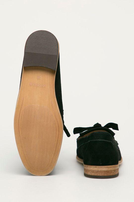 Wojas - Semišové mokasíny  Svršek: Semišová kůže Vnitřek: Přírodní kůže Podrážka: Umělá hmota