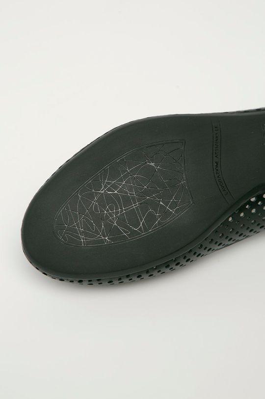 černá Wojas - Kožené baleríny