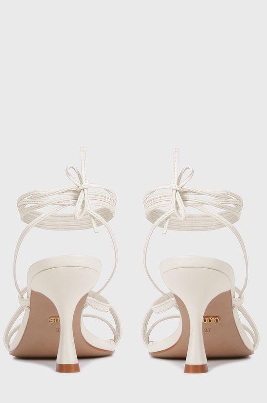 biały Kazar Studio - Sandały skórzane