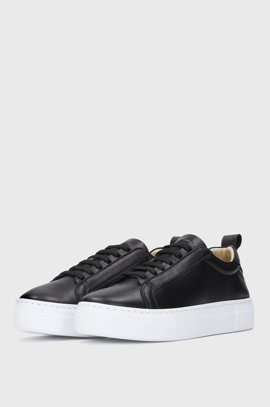 Kazar Studio - Kožená obuv čierna