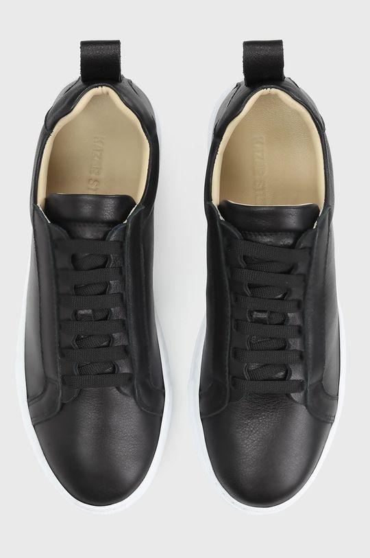 čierna Kazar Studio - Kožená obuv
