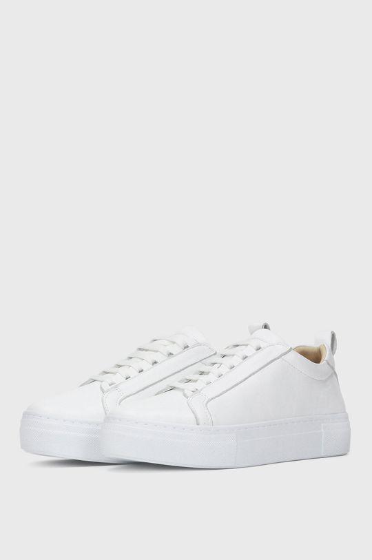 Kazar Studio - Kožená obuv biela