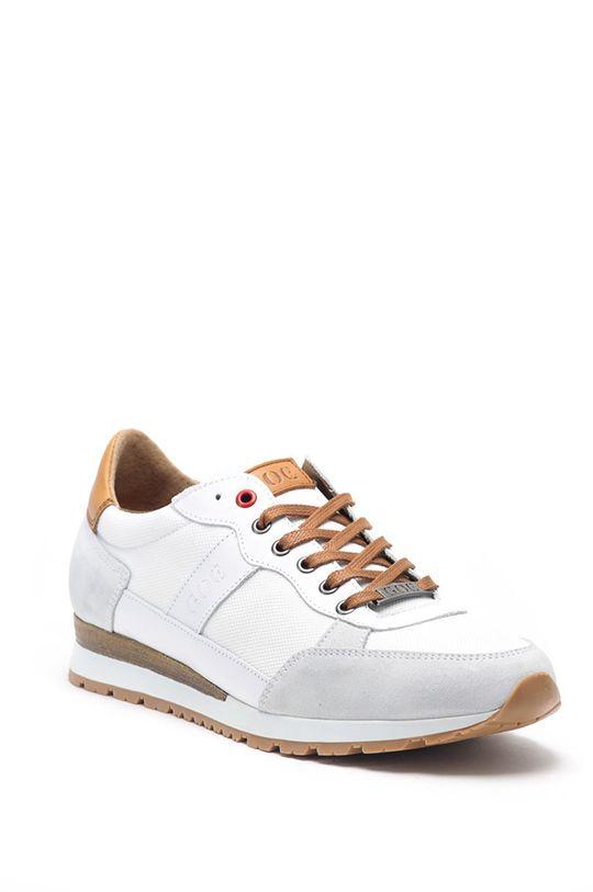 GOE - Kožené boty bílá