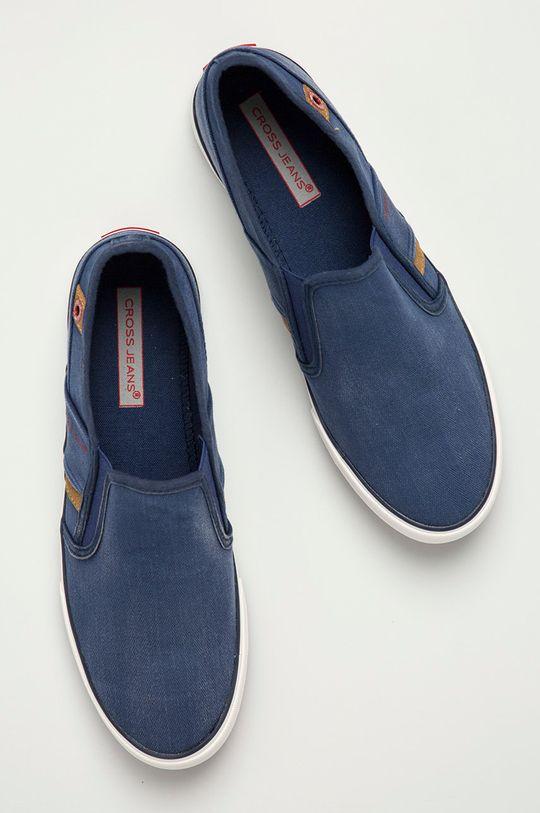 námořnická modř Cross Jeans - Tenisky