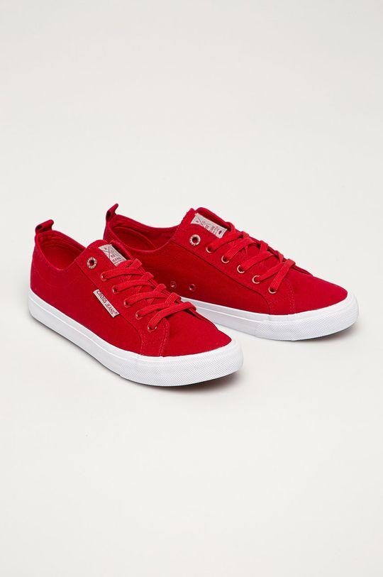 Cross Jeans - Tenisky červená