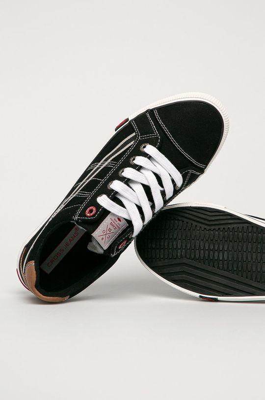 černá Cross Jeans - Tenisky