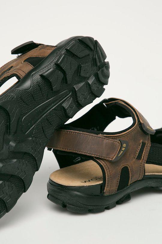 Wojas - Kožené sandále  Zvršok: Prírodná koža Vnútro: Textil Podrážka: Syntetická látka