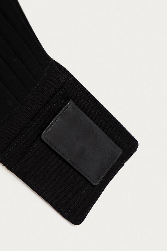 Element - Portfel skórzany czarny