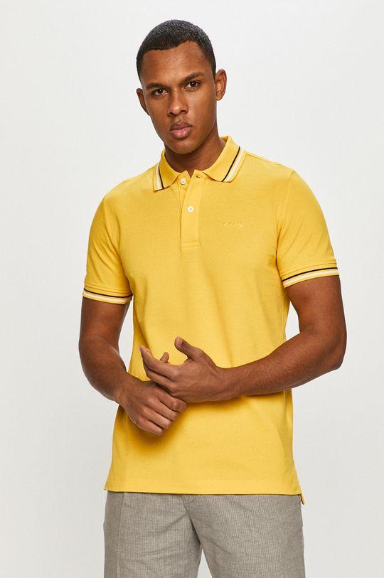 hořčicová Geox - Polo tričko
