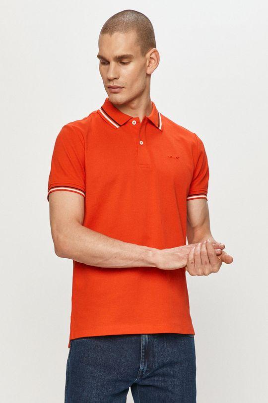 koralová Geox - Polo tričko Pánsky