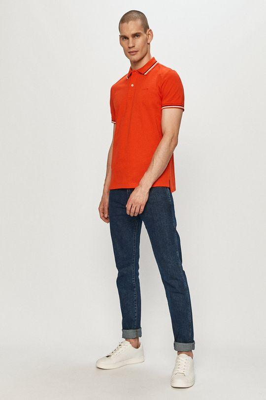 Geox - Polo tričko koralová