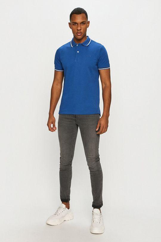 Geox - Tricou Polo albastru
