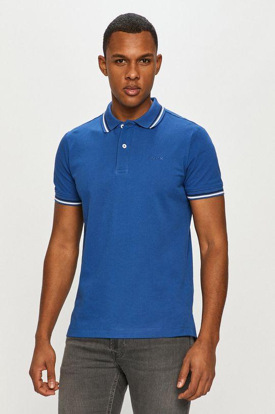 albastru Geox - Tricou Polo
