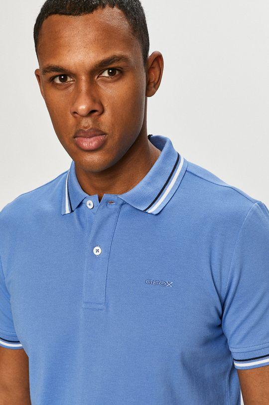 morská modrá Geox - Polo tričko