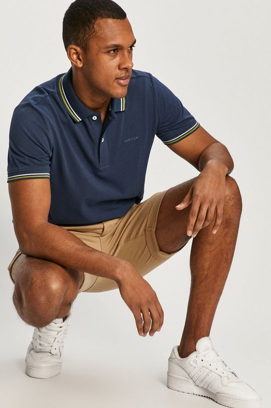 bleumarin Geox - Tricou Polo De bărbați
