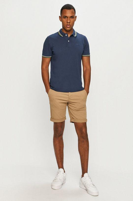 Geox - Tricou Polo bleumarin