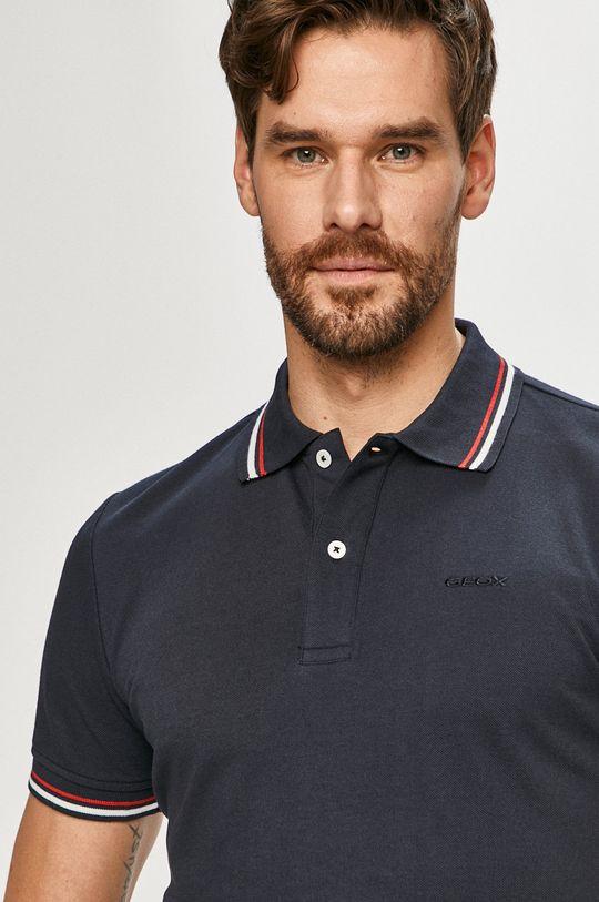 tmavomodrá Geox - Polo tričko