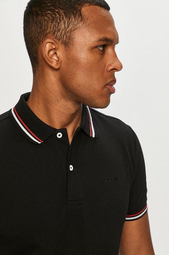 negru Geox - Tricou Polo
