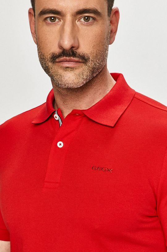ostry czerwony Geox - Polo