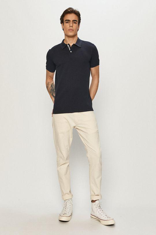Geox - Polo tričko námořnická modř