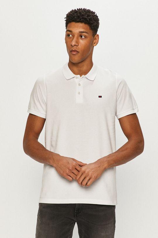 bílá Cross Jeans - Polo tričko Pánský