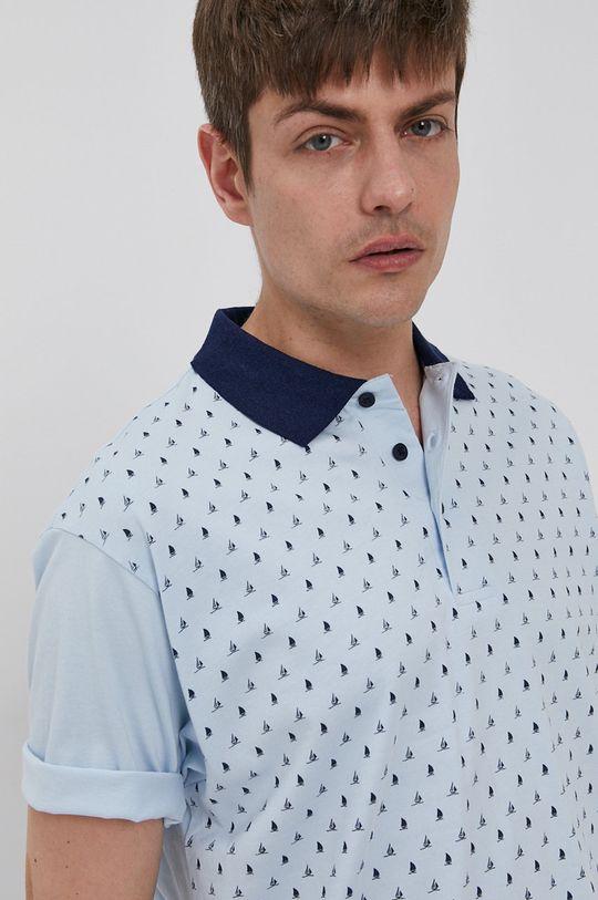 modrá Lee Cooper - Polo tričko Pánsky