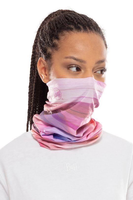 Buff - Komin Pale Pink 5 % Elastan, 95 % Poliester z recyklingu