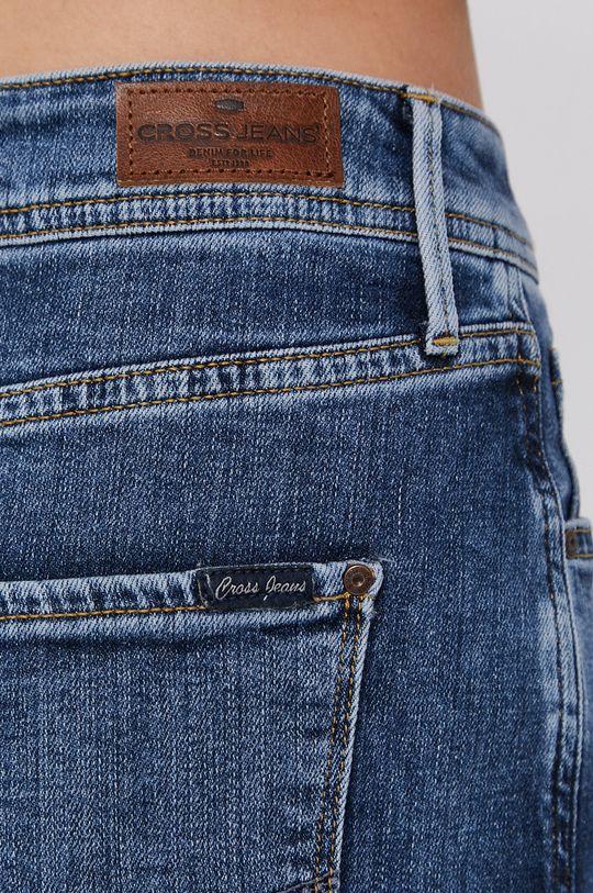 niebieski Cross Jeans - Spódnica jeansowa