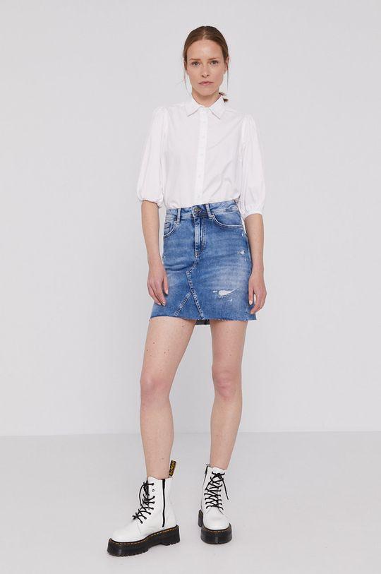 Lee Cooper - Spódnica jeansowa niebieski