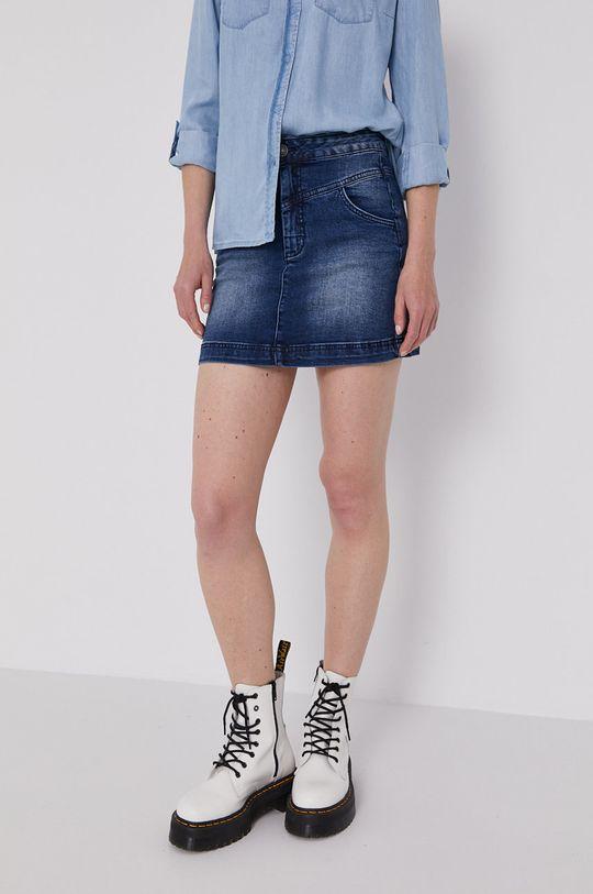 granatowy Lee Cooper - Spódnica jeansowa Damski